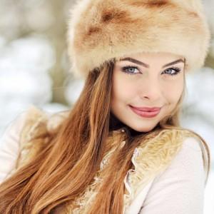 šiltos kailinės kepurės