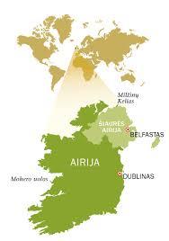 Siuntos Airija Lietuva
