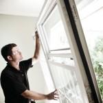 Plastikiniu langu montavimas