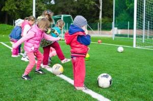 stovykla vaikams, lauko sporto įranga